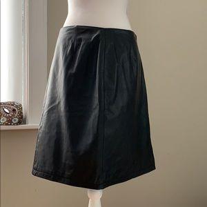 Wilson's Genuine Leather Pencil Skirt